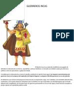 Guerreros Incas