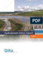 2017 Hydropower Status Report