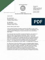 Complaint Against Kansas Municipal Judge / Attorney Fredrick Smith and Attorney John Muzurek Dated June 8th, 2015