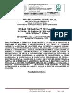 Bases de Equipo Medico 2018