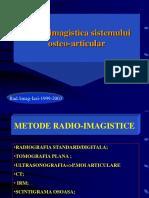 LP 11 22.05.2015 Radio Imagistica Sistemului Osteo Articular