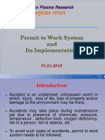 Presentation on Permit to Work System_01.01.2016