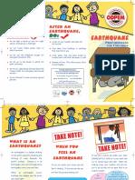 Earthquake Children Brochure