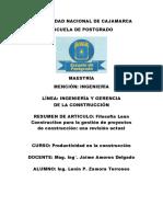 Filosofía Lean Construction para la gestión de proyectos.docx