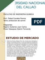 Estudio de Mercado Cochinilla