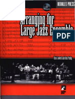 Dick Lowell & Ken Pullig - Arranging for Large Jazz Ensemble