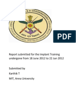 Cvrde Report