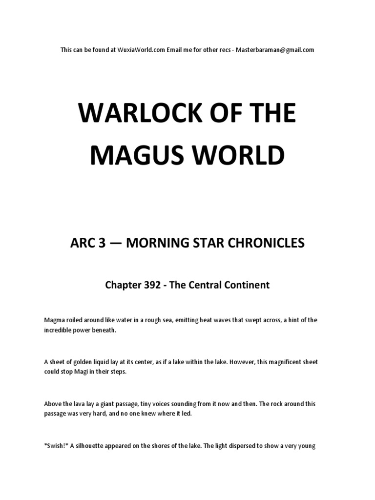 Warlock of the Magus World - Arc 3 | Magi | Volcano