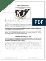 Datos Estadisticos de La Leche