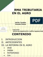 Reforma Tri but Aria Del Agro