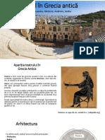Teatrul În Grecia Antică