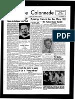 The Colonnade, April 20, 1954