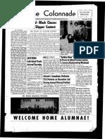 The Colonnade, November 15, 1954