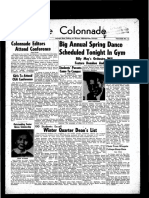 The Colonnade, April 14, 1956