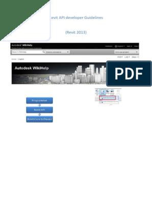 revit_2013_api_developer_guide pdf   Autodesk Revit