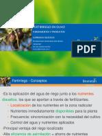Presentación Fertirrigación Olivo ING AGR MARIANO MARCON