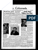 The Colonnade, January 16, 1960