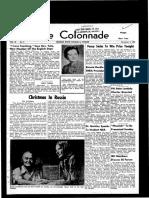 The Colonnade, November 19, 1960