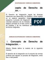 Tema 2 Derecho de Integracion y Derecho Comunitario