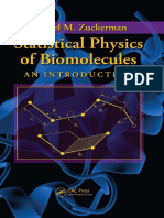(EBL-Schweitzer) Zuckerman, Daniel M-Statistical Physics of Biomolecules _ An Introduction-CRC Press (2010).pdf