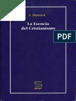 Harnack Adolf La Esencia Del Cristianismo