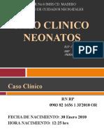 ICTERICIA NEONATAL. Caso Clínico