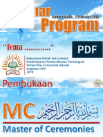 Seminar Program Desa Tammangalle