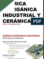 Clase 1.- Quimica Inorganica_Industria Introduccion