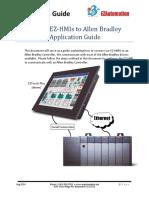 ConnectingEZ HMIs to AB Controllers