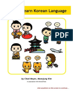 Easy to Learn Korean Language