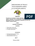 SEMINARIO CIANURO