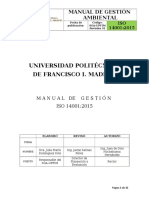 Manual Sga Upfim Iso 14001 2015