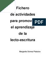 80 Ficheros de Actividades Para Promover El Aprendizaje de La Lecto-escritura