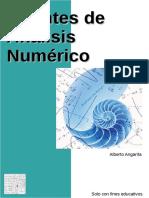 Apuntes de Análisis Numérico - Alberto Angarita