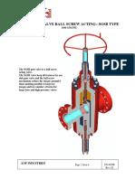 gate valve API 6A