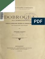 Danescu g 1903 Dobrogea