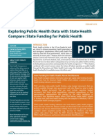 Exploring Public Health Data with State Health Compare