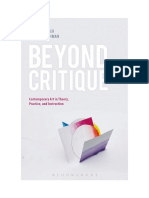 Beyond Critique -