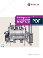 Brochure Antifoams Defoamers ES