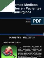 Problemas Médicos Especiales en Pacientes Quirúrgicos