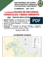 Conservacion de Recursos Forestales y Medio Ambiente 2012