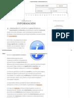 Concepto de Información - Definición, Significado y Qué Es