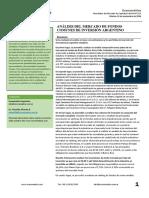 Analisis del Mercado de Fondos Comunes de Inversion