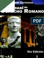 Libro de Derecho Romano Por Wilmer Carmona