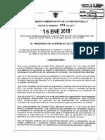 Decreto 51 Del 16 Enero de 2018