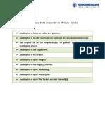 Asertivitate.carta Drepturilor de Afirmare a Sinelui