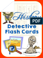 history detectives flashcards-teachthis