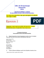 01. Ejercicios de Dialogo y Contexto 2016