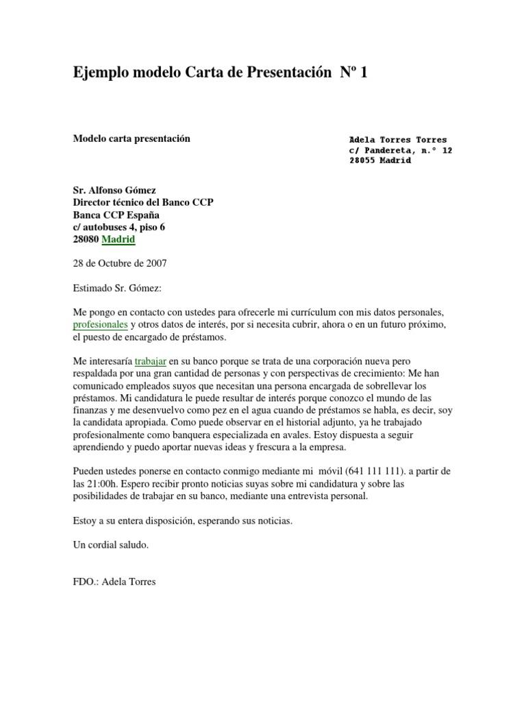 Vistoso Muestra Carta De Presentación Del Curriculum Vitae Militar ...