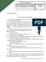 Português - exercícios